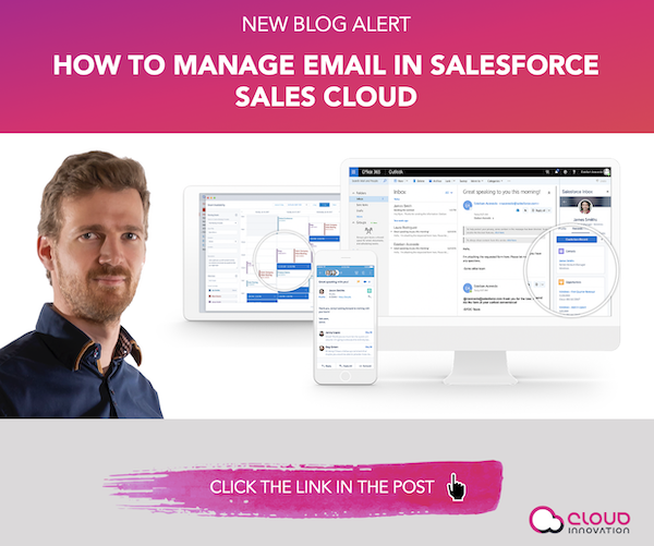 How to manage email in Salesforce Sales Cloud